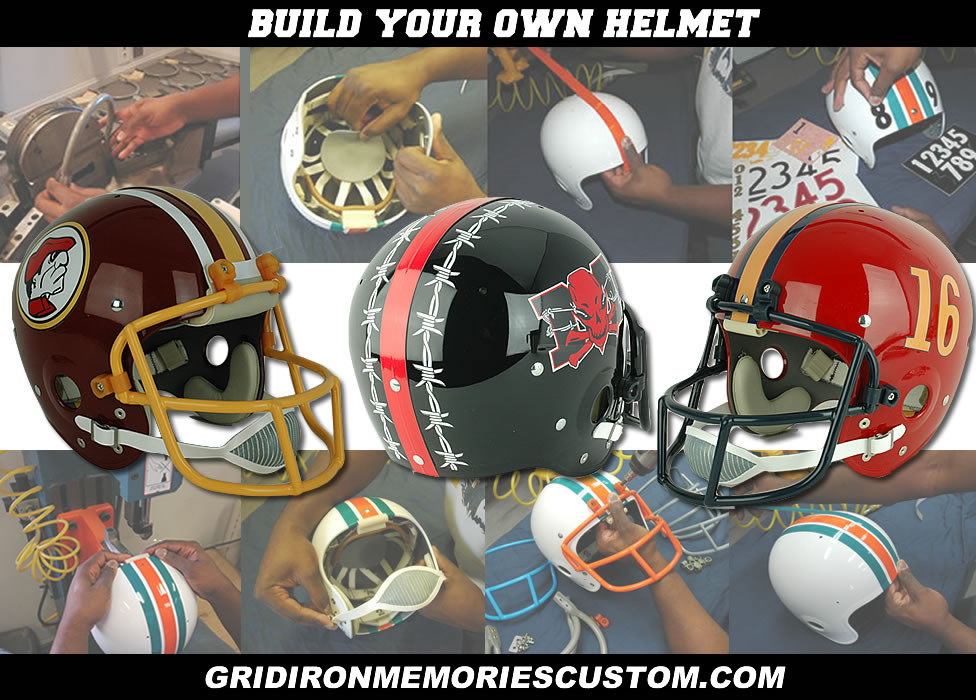 Build Your Own Helmets